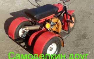 Самодельный мотоцикл-качалка от деда