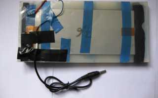 Солнечная зарядка для литиевого аккумулятора своими руками
