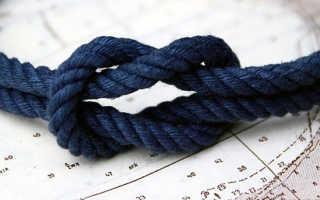 Как вязать узлы. Сводные таблицы схем вязания различных узлов