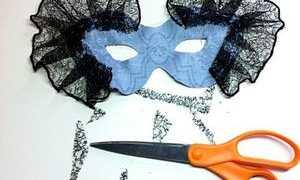 Как сделать карнавальную маску своими руками