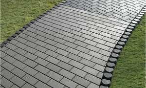 Бюджетная тротуарная плитка своими руками на дачу