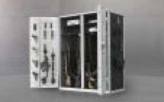 Самодельный оружейный шкаф от Анатолия Князева