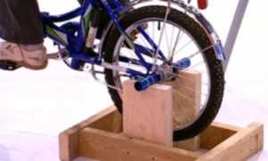 Домашний велотренажер своими руками