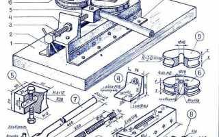 Самодельный ручной станок для гибки арматуры