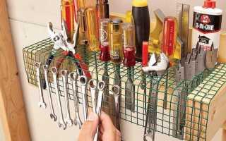 Классный органайзер для мелочёвки своими руками в мастерскую