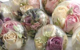 Удивительный рецепт! Цветы в глицерине, желатине и соли