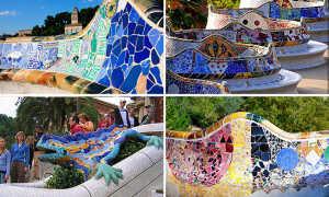 Мозаика из битой плитки и стекла (дизайнерские идеи, фото)