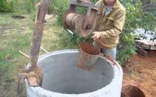 Как вырыть колодец на участке своими руками (фото, видео)