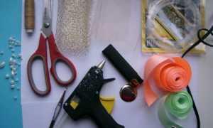 Брошь канзаши: мастер-класс с пошаговыми фото техники изготовления