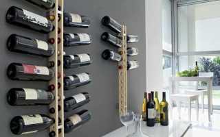 Мастер-класс по изготовлению складной винной стойки своими руками