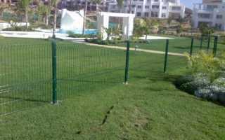 Забор из проволоки своими руками