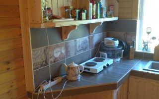 Классная кухня на дачу своими руками от Петра Першикова