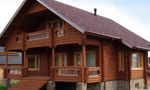 Чем так популярны дома из оцилиндрованного бревна
