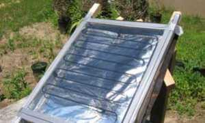 Самодельный солнечный коллектор из старого холодильника