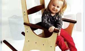 Детское кресло-качалка (чертежи для самостоятельного изготовления)