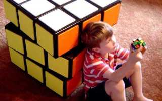 "Комод ""Кубик Рубика"" в детскую своими руками"
