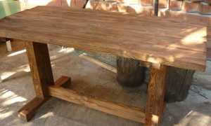 2 садовых кресла Адирондак и столик – все своими руками