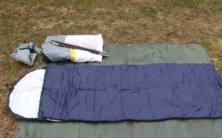 Самодельный спальный мешок своими руками