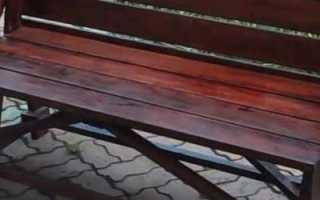 Скамейка-трансформер на дачу своими руками (чертежи)
