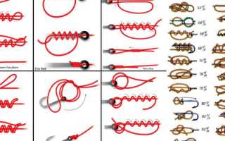 Как правильно вязать рыболовные узлы