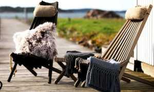 Складное садовое кресло Кентукки для дачи своими руками