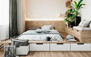 Пьедестал с выдвигающейся кроватью или увеличиваем полезное пространство комнаты своими руками (идея, фото, пошагово)