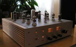 Простой ламповый усилитель звуковых частот своими руками или ощутите теплоту лампового звука