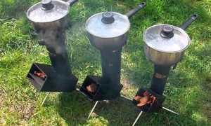 Самодельная ракетная печь