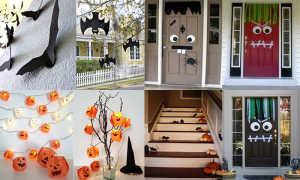 Идеи декора квартиры, дома для Хэллоуина (фото)