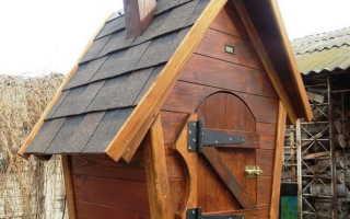 Самодельный коптильный домик на дачу