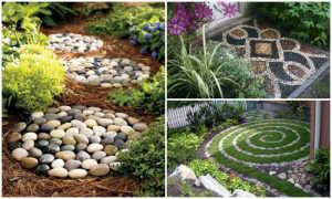 10 идей домиков из камней для дачи своими руками
