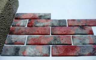 Как сделать облицовочную плитку – искусственный камень – своими руками