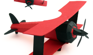 Кордовый самолет из картона своими руками (фото, мастер-класс, пошагово, шаблон)