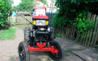 Мини-трактора из мотоблока (видеоподборка)