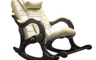 Как сделать кресло-качалку для дачи своими руками (чертежи, фото)
