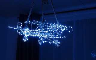 Светодиодный светильник из галогенного своими руками