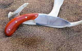 Самодельный нож из диска от циркулярной пилы