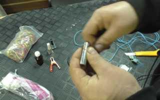Самодельное устройство для борьбы с коррозией из обычной солевой батарейки