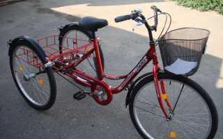 Грузовой велотрайк своими руками