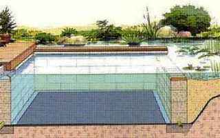 Дачный пруд-бассейн своими руками