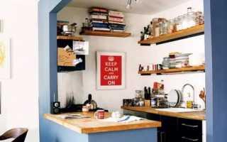 Кухня-столовая своими руками (фото, пошагово, идея дизайна малоразмерной кухни)