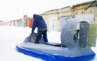Суперсамоделка! Самодельное судно на воздушной подушке