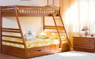 Детская двухэтажная кровать своими руками (фото, идея)