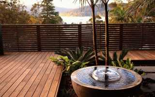 Идеи фонтанов на даче (фотоподборка)