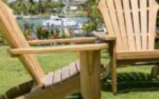 Доступное садовое кресло своими руками или еще один Адирондак