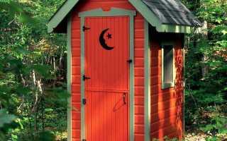 Оригинальный дачный туалет в виде кареты (фото, пошагово)