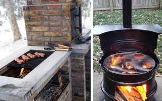 Делаем мангал для мяса своими руками (фотоотчет)