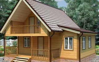 Дачный домик своими руками (чертежи, фото)