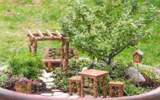 Самоделки для дачи. Деревянная кадка для цветов своими руками
