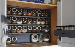 Кухонная корзина для специй своими руками (чертежи, схемы, фото, мастер-класс)
